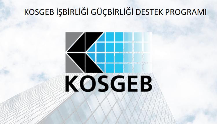 KOSGEB işbirliği güçbirliği destek programı amacı ve gerekçesi